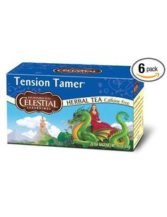 Amazaon: Celestial Seasonings Herb Tea, Tension Tamer, 20-Count Tea Bags (Pack of 6)