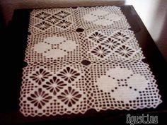 Camino de mesa elegante en crochet 2 youtube crochet - Camino de mesa elegante en crochet ...