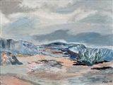 """Tove Jansson - """"MIST"""", 1946, Oil"""