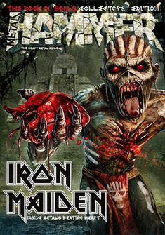 lordofthewasteland666:  Iron Maiden The Book Of Souls