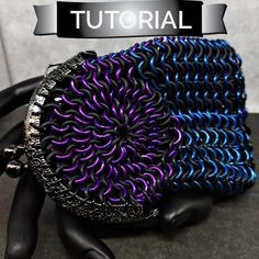 Tutorial Chainmaille Coin Purse European 4 in 1 Change
