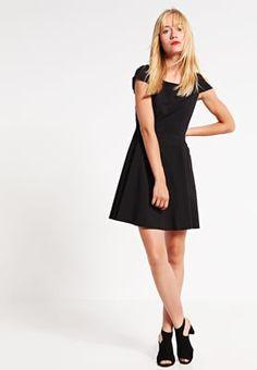 Jurken Vila VISONNI - Korte jurk - black Zwart: € 54,95 Bij Zalando (op…