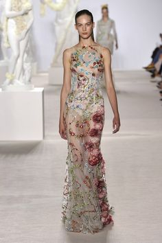 Giambattista Valli Fall 2013 Couture | Fashion > One Look, One Line | W Magazine
