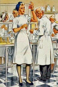 """Women Working For You"" Postcards, 1943 - Retronaut"