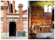 La Cantina Madrid: cafe next door to Madrid's only non-fiction movie theater