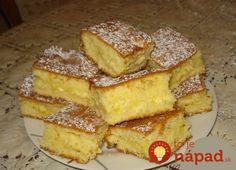 Namiesto tvarohovej náplne môžete vyskúšať smotanovú, lekvárovú alebo jablkovú náplň. Tento koláčik si môžete vychutnávať na milión spôsobov. Turkey Recipes, My Recipes, Sweet Recipes, Cake Recipes, Dessert Recipes, Cooking Recipes, Favorite Recipes, Hungarian Desserts, Hungarian Recipes
