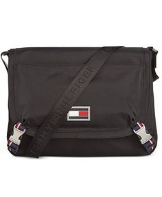 dd72d7c2d07a6 Tommy Hilfiger Ripstop Nylon Messenger Bag - Accessories & Wallets -  Men - Macy's Messenger