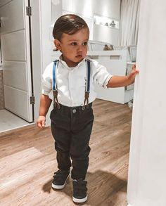 Cute Little Boys, Cute Kids, Cute Babies, Little Babies, Outfits Niños, Kids Outfits, Baby Tumblr, Cute Baby Boy Outfits, Foto Baby