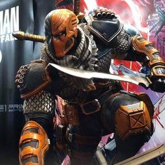 🔥Summer Wonderfest Deathstroke scale statue By Prime 1 Studio _ _ ⚠swipe left for more images ⚠ 👉deslize para mais imagens _ Deathstroke Cosplay, Dc Deathstroke, Deathstroke The Terminator, Deadshot, Comic Villains, Comic Book Characters, Marvel Characters, Marvel Vs, Marvel Comics
