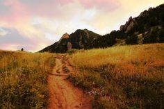 Beautiful Boulder hike.