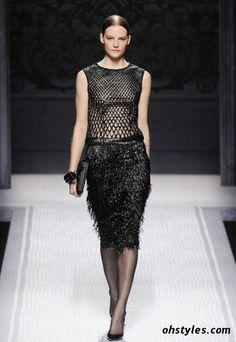 Alberta Ferretti's Fall/ Winter 2013 Fashion Collection