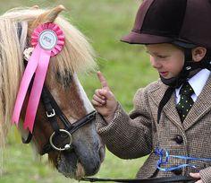 The most precious child & pony pair ever.