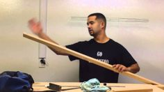 cutting and gluing the red oak longbow