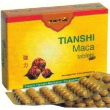Tiens Maca tablets  -Increase Physical Stamina, Energy and Improve Chronic Fatigue Conditions  -Helps Promote Hormonal Balance And Well Being For Men And Women of All Ages  -Decreases Menopause Symptoms Like Hot Flashes, NightSweating, Vaginal Dryness, Mood Swings and Depression In Most Woman Including Thyroid and Fibromyalgia issues.  -Helps Feed, Nourish and Regulate The Entire Endocrine System Of The Body  - Increase Mental Clarity and Focus   - Help Boost Libido and Sexual