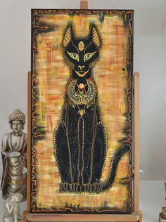 "The goddess Bast is widely known today as the ""Cat Goddess"" , Goddess of sensual pleasure, protector of the household, bringer of health, Fertility and Birth, the Goddess of Children and Pregnant Mothers, and thus the Goddess of Life, Family and the Home.Bastet also known as Bast, Baast, Ubasti and Baset.  Bastet's name means, ""She of the perfume jar"". She was connected with perfumes as she shares a hieroglyph with that which represented the bas jar. These were ceramic vessels used to hold…"