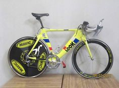 Look TT Bike (KG 496?): Another great Look tt bike from the tour.