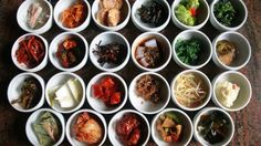 HERE'S WHAT'S IN ALL THOSE LITTLE DISHES AT KOREAN BARBECUE - http://www.koreanbbqshop.com/heres-whats-little-dishes-korean-barbecue/ -