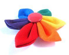 Rainbow brooch by Frau Sonnenschein