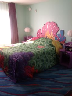 Finding Nemo suites at Art of Animation Resort - Walt Disney World