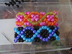 Ooh Piece of Kandi:  How to Make: DNA xbase