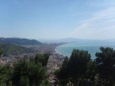 Panorama di #Salerno dal #CastelloArechi