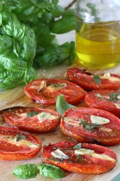 Antipasto, Mediterranean Recipes, Bruschetta, Finger Foods, Italian Recipes, Salad Recipes, Delish, Good Food, Food And Drink