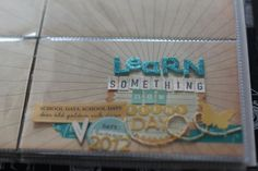 Learn Something New Every Day - online scrapbooking class @ shimelle.com
