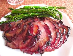 This raspberry chipotle glazed ham is da bomb. It is nice and sweet, just like an Easter ham should be, but has a little kick from the chipotle.