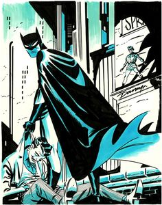 Darwin Cooke was so stylish. Gone too young. One of my absolute favorites cuz he reminded us design is as important as scope Comic Book Characters, Comic Character, Comic Book Artists, Comic Artist, Comic Books Art, Batman The Dark Knight, Comic Covers, Batman Poster, Batman Art