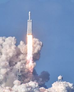 Falcon Heavy soars on maiden voyage, launches Starman and Tesla into deep space. (Feburary 6, 2018) SpaceX made history February 6 with the long-awaited flight of their Falcon Heavy rocket. Seven years after it was first announced, the three-core...