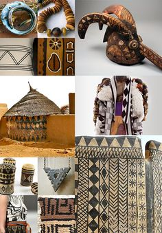 Objects and structures that offer a glimpse into the diversity of African tribal design