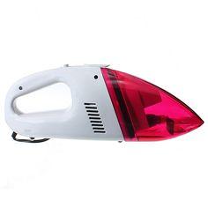 12V Mini Car Portable Handheld Vacuum Cleaner Red 60W High Power Uganda, Sierra Leone, Montenegro, Seychelles, Belize, Ecuador, Gadgets Électroniques, Handheld Vacuum Cleaner, Mini
