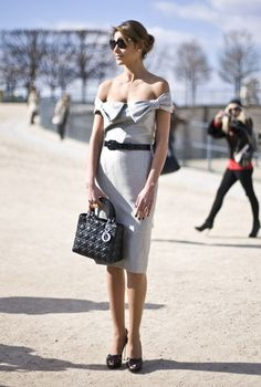 Christian Dior dress and bag by TARIKISA