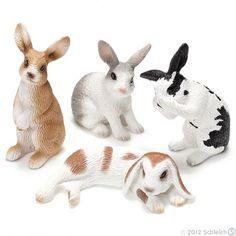 Bunnies, bunnies it must be bunnies!