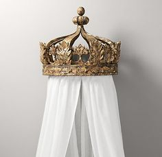 Gilt Crown Bed Canopy | Accents | Restoration Hardware Baby Child