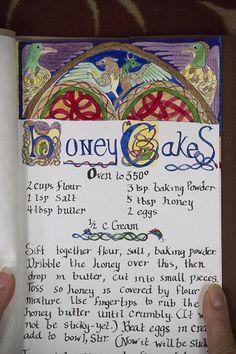 Honey Cakes Detail