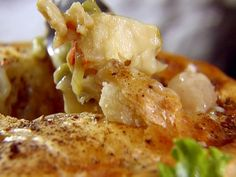 Oh Ina! I would of course use store bought pie crust for the topping and use shrimp instead of lobster...but YUM YUM!  Food Network invites you to try this Lobster Pot Pie recipe from Ina Garten.