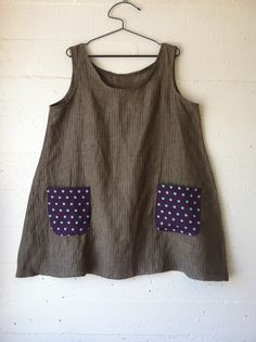 dress 48 materials: linen and linen-cotton blend pattern: dress no. 1