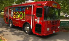 King County (Wash.) Library bookmobile.