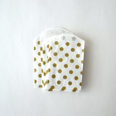 Hey, I found this really awesome Etsy listing at https://www.etsy.com/listing/204576663/25-small-metallic-gold-polka-dot-white
