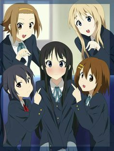 K-On! One of my absolute favourite anime series. ❤