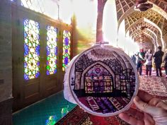 Mezquita rosa Nasir Ol Molk en Shiraz, Irán