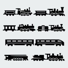 Steam Train Illustrations & Vector Images - iStock