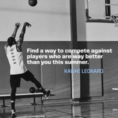 Kawhi Leonard has a challenge for you. Will you achieve it?