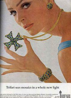 Trifari Vogue 1966