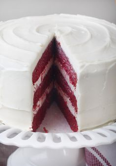 red velvet cake without red dye