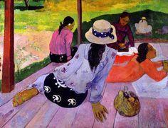 Paul Gauguin - The Siesta, 1891-2