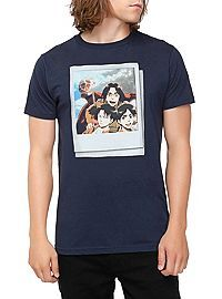 HOTTOPIC.COM - Attack On Titan Instant Photo T-Shirt