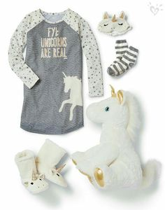 We believe that fantasies can be real with the proper Sleepove… Unicorns forever! We believe that fantasies can be real with the proper Sleepover Shop accessories! Unicorn Outfit, Cute Unicorn, Unicorn Party, Unicorn Birthday, Unicorn Clothes, Girl Outfits, Cute Outfits, Justice Clothing, Kids Clothing
