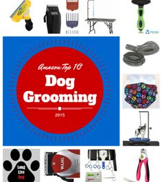 Products to groom your dog with